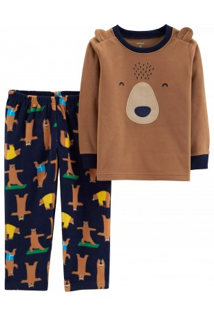 Pijama Fleece Urso Carter's
